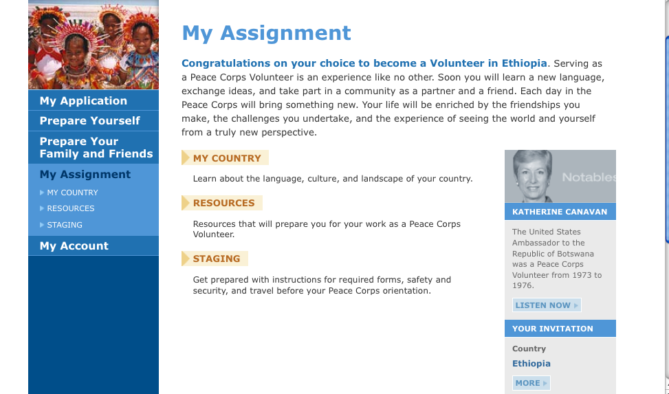 aspiration essay peace corps Peace corps application here is my cross-cultural essay for my peace corps application enjoy aspiration statement.